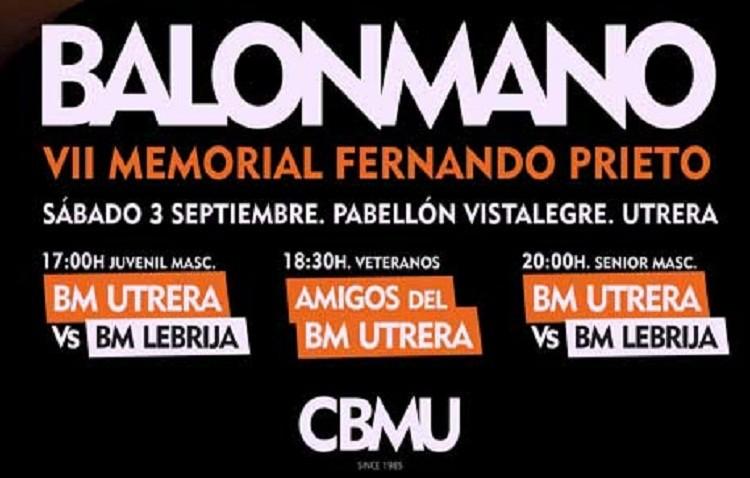 VII Memorial Fernando Prieto Hervás de balonmano