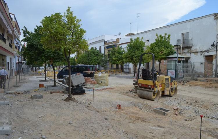 Las obras de La Corredera se retrasan un mes
