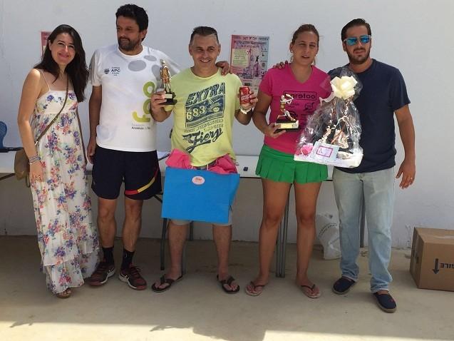 Más de 20 parejas de la provincia participan en el I Torneo Mixto pre-feria de Consolación