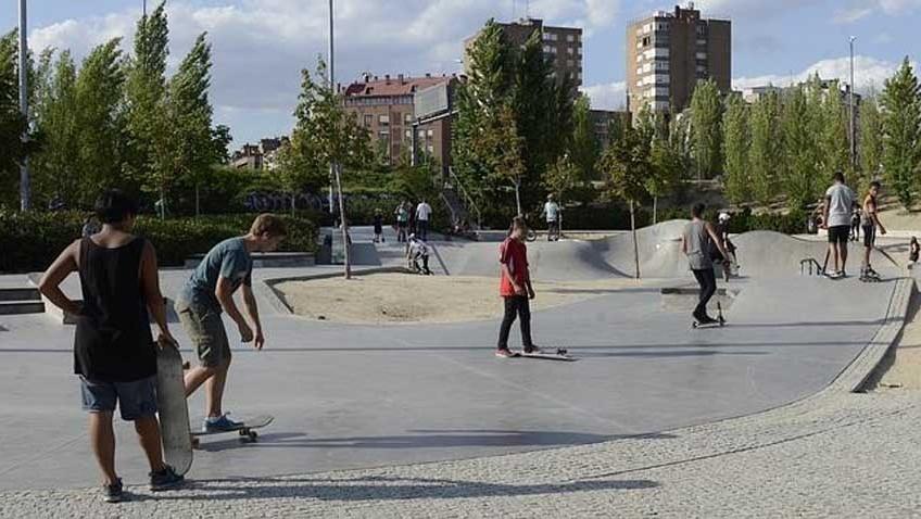 Pistas de skate para los aficionados de Utrera