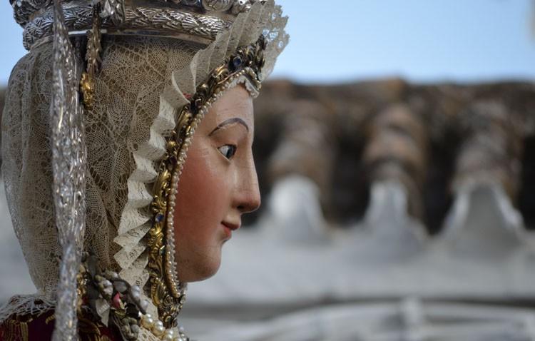 Cultos y procesión en honor a la Virgen de la Mesa