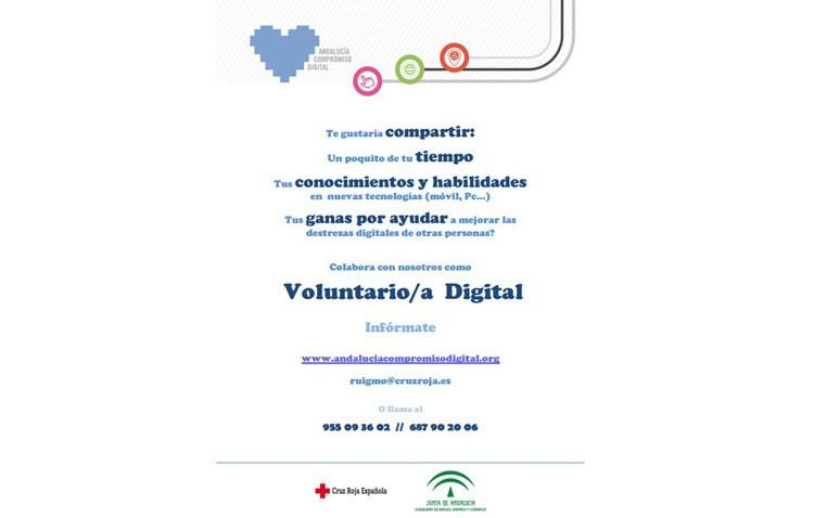 Un programa de voluntariado para aprender a usar las redes sociales, trámites on line e internet