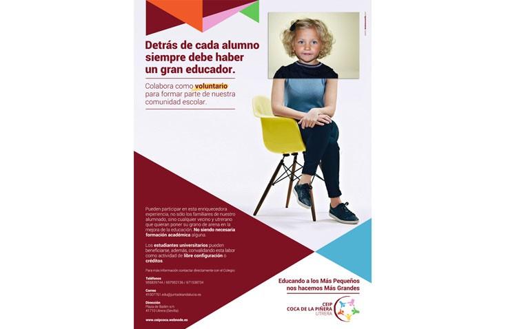 El proyecto de voluntariado del colegio Coca de la Piñera cumple cinco años de vida