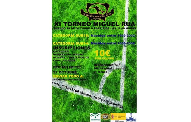 Aldaba organiza su torneo de fútbol «Miguel Rúa»