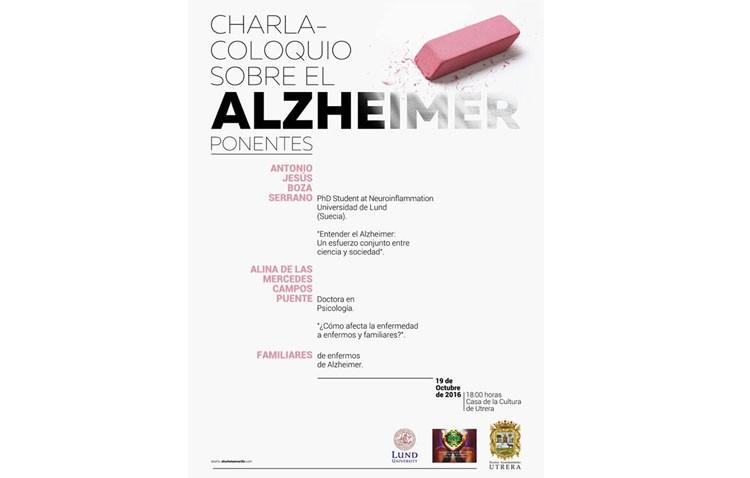 Una charla-coloquio sobre el alzheimer en la Casa de la Cultura