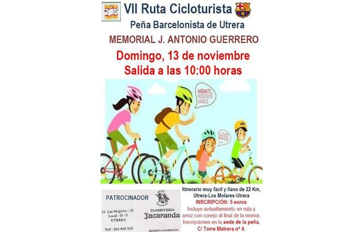 Utrera celebra la VII Ruta Cicloturista «Memorial J. Antonio Guerrero»