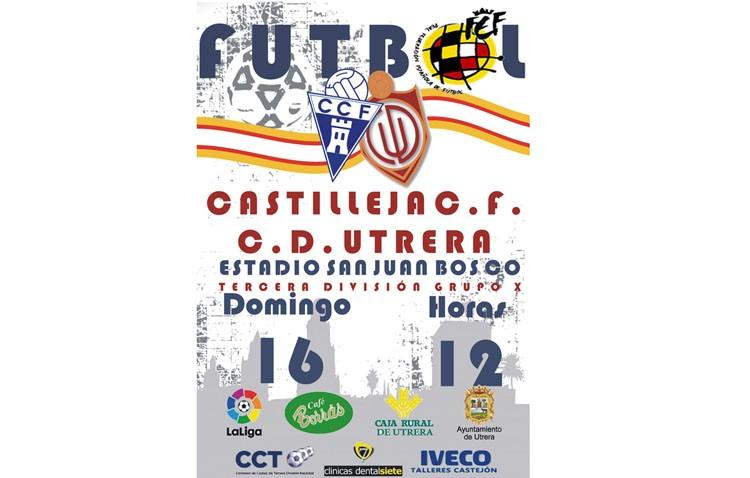 C.D. Utrera – Castilleja CF: La victoria como principal prioridad