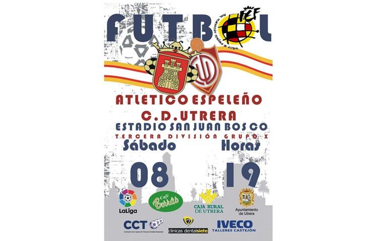 C.D. Utrera – Espeleño Atlético: Los utreranos se enfrentan a un novel de la categoría