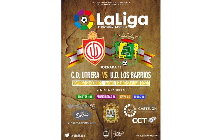 C.D. Utrera – U.D. Los Barrios: El Utrera recibe al colista
