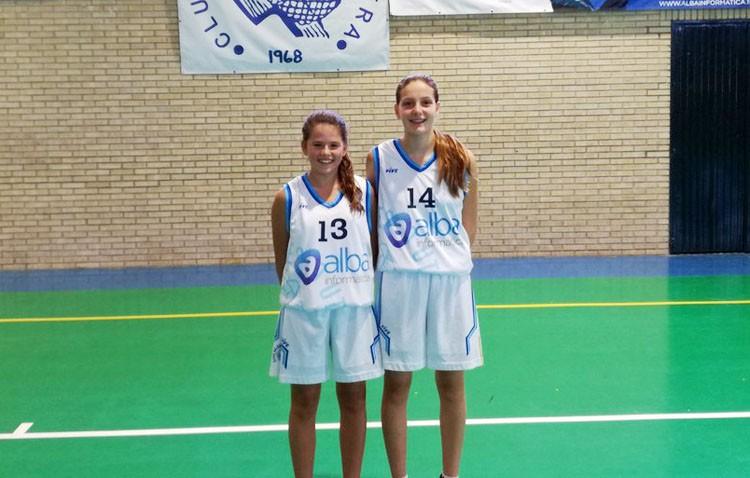 Dos utreranas, presentes en el Campeonato de Andalucía Infantil de Baloncesto