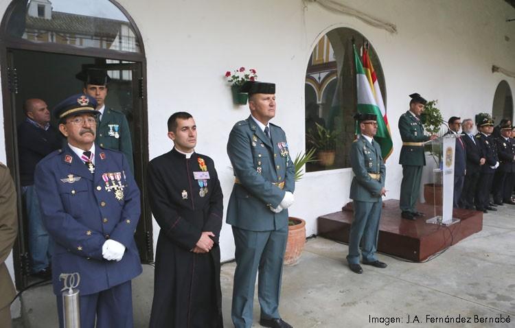 Un día de fiesta y homenaje para la Guardia Civil de Utrera