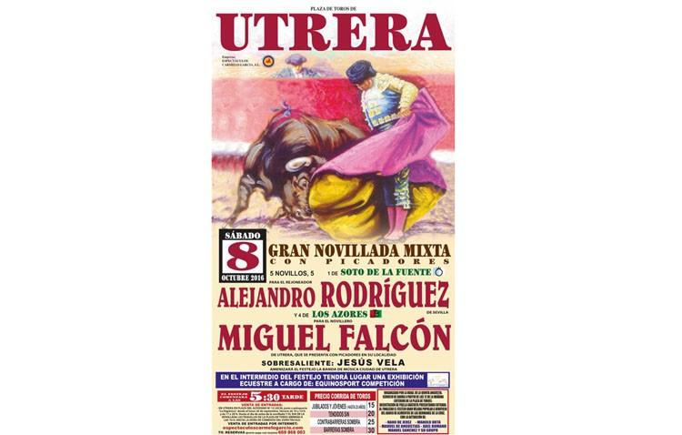 Semana importante para Miguel Falcón, con la novillada y posterior espectáculo en la plaza de Utrera