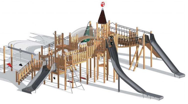 El Ayuntamiento afirma que la «ciudad de los niños» en el parque de Consolación será «referencia de la provincia»