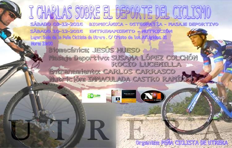 Utrera acoge las primeras conferencias sobre el ciclismo