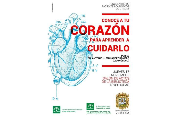 «Conoce a tu corazón para aprender a cuidarlo», una conferencia dirigida a los pacientes cardíacos