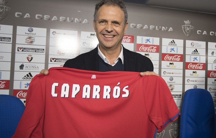 El utrerano Joaquín Caparrós, al frente del Osasuna hasta 2018