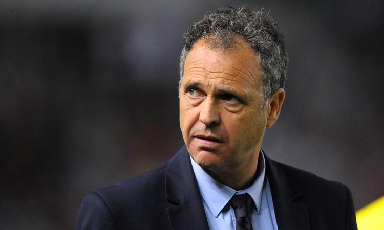 Joaquín Caparrós, director de fútbol del Sevilla F.C.