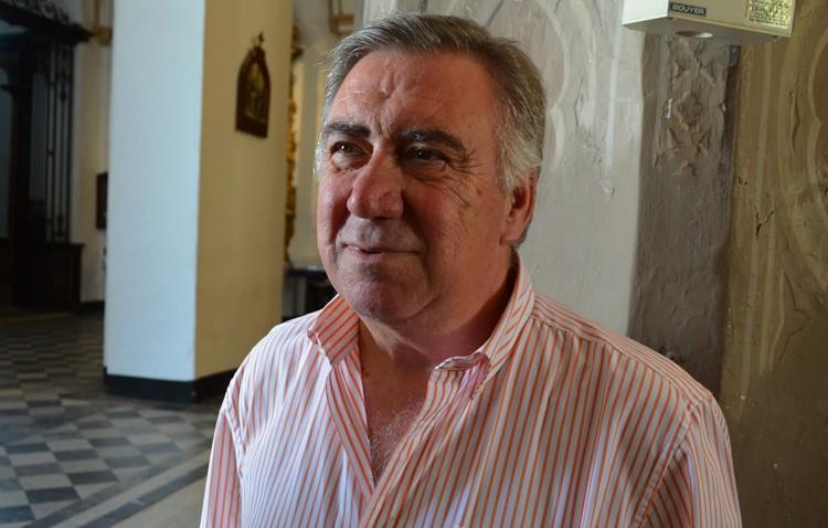 José Manuel Martínez, pregonero de la Navidad en los Salesianos