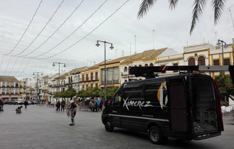 El Ayuntamiento de Utrera amplía la iluminación navideña, con un coste de más de 64.000 euros