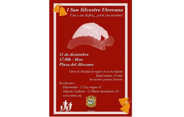 Utrera cerrará el año con la típica carrera «San Silvestre»