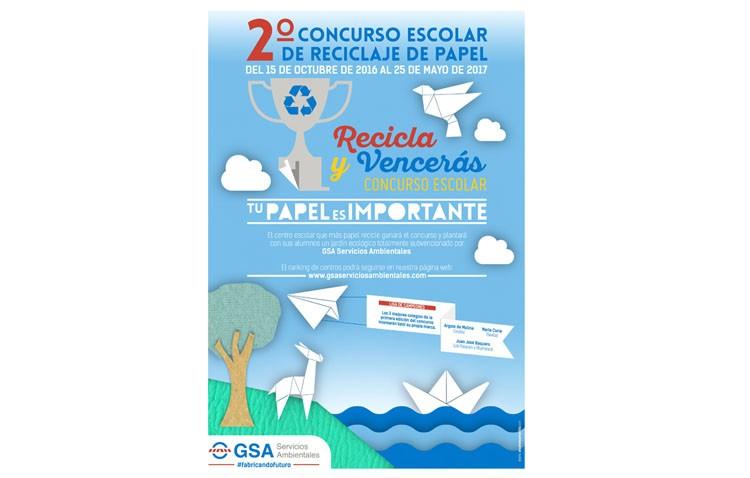 Un concurso de reciclaje para los centros escolares