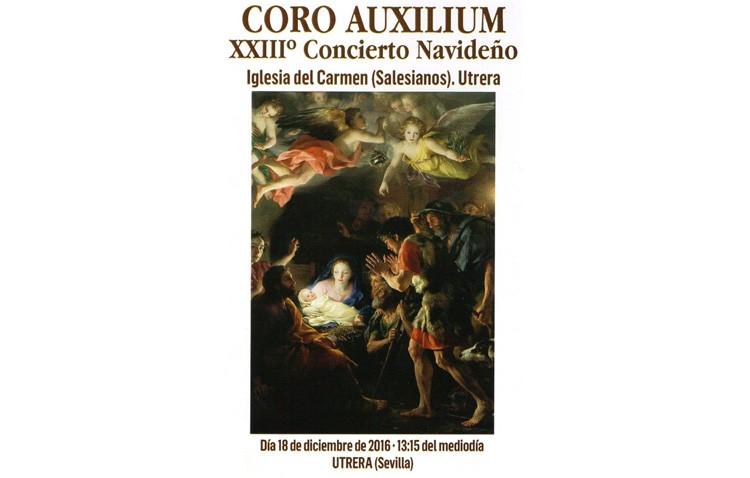 Doble concierto navideño del Coro Auxilium