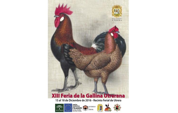 La Feria de la Gallina Utrerana prepara su decimotercera edición, que este año adelanta su fecha de celebración