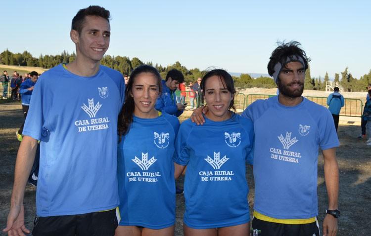 El Club Utrerano de Atletismo logra el mejor resultado de su historia en un campeonato nacional