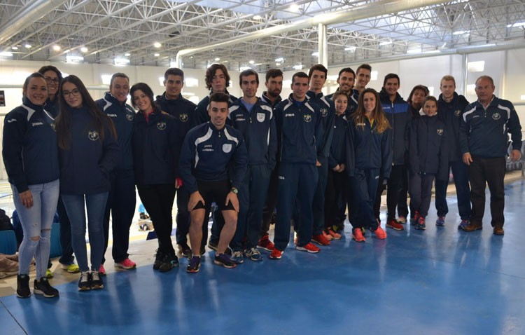 Éxito del Club Utrerano de Atletismo en la modalidad invernal de pista cubierta