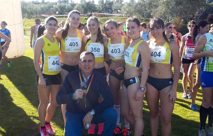 Gran actuación del Club Utrerano de Atletismo en el campeonato andaluz de cross corto