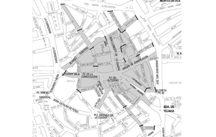 El centro de Utrera se cierra al tráfico a las 14.00 horas con motivo de la cabalgata de los Reyes Magos