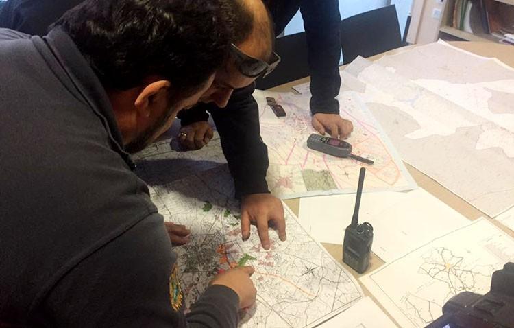 Más de un centenar de efectivos integran el dispositivo de búsqueda del guardia civil desaparecido