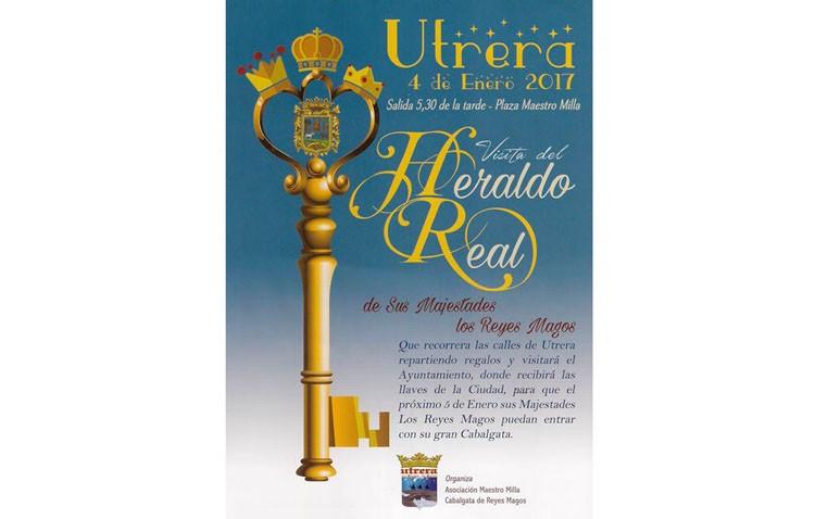 El Heraldo Real preludia la llegada de los Reyes Magos en Utrera