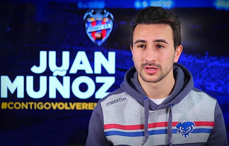 El futbolista utrerano Juan Muñoz, refuerzo ofensivo del Levante UD hasta final de curso