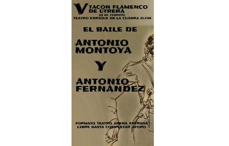 El baile de Antonio Montoya y Antonio Fernández, protagonistas de la jornada en el «Tacón flamenco»