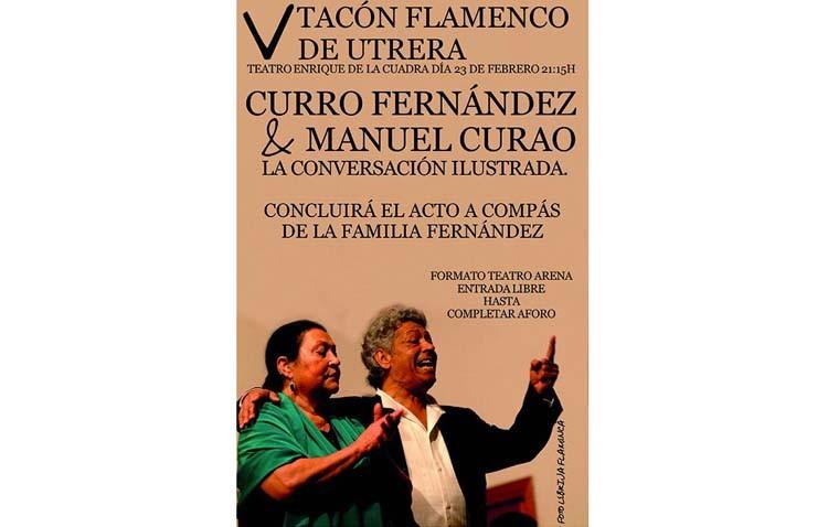 Una «conversación ilustrada» entre Curro Fernández y Manolo Curao