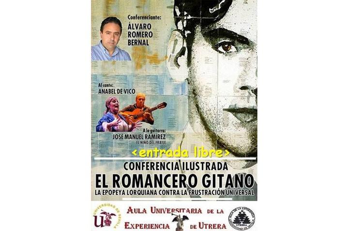 Palabra y música se unen en una conferencia ilustrada sobre «El romancero gitano»