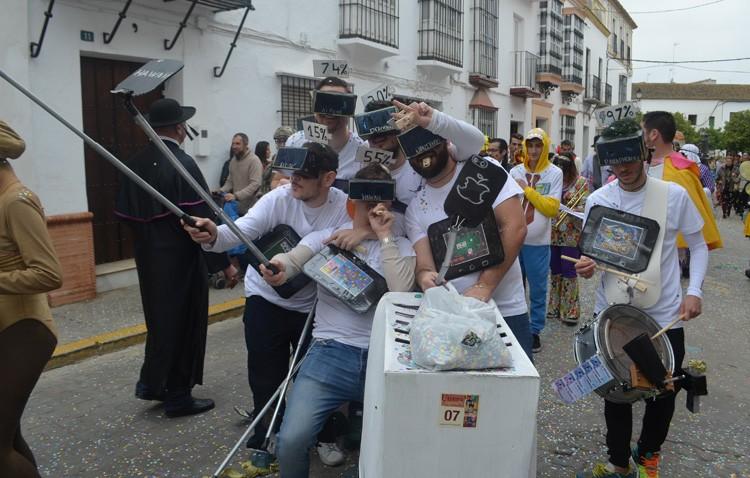 Utrera disfrutó un año más de su carnaval (GALERÍA)