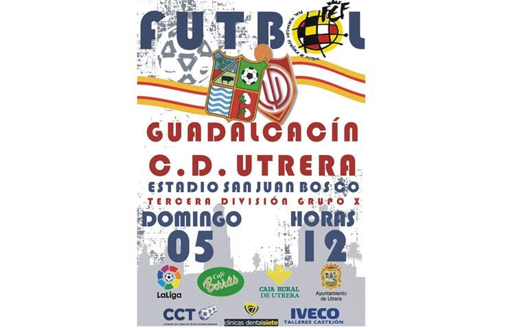 C.D.UTRERA – GUADALCACIN C.D.: Los utreranos buscan extender la racha de imbatibilidad en casa