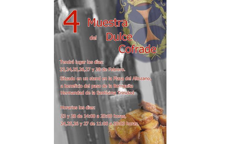 La hermandad de la Trinidad organiza su muestra del dulce cofrade