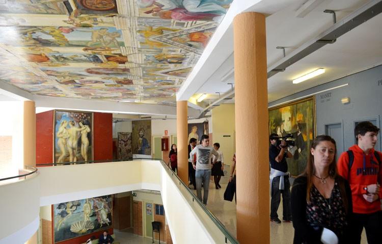 Un premio del ministerio de Educación para el proyecto artístico del instituto José María Infantes (AUDIO)