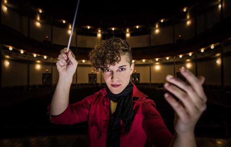 La utrerana Marina Ramos será la primera andaluza que dirija la Banda Sinfónica de Madrid