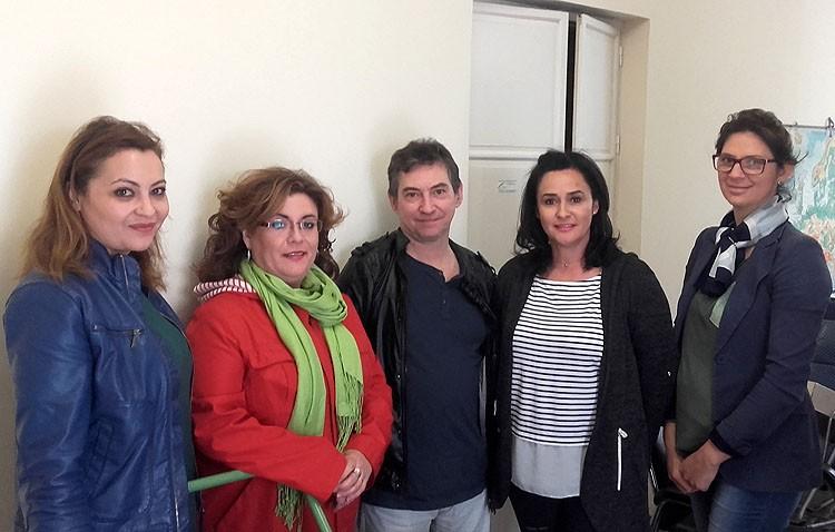 La edil de Participación Ciudadana visita la sede de Apudes