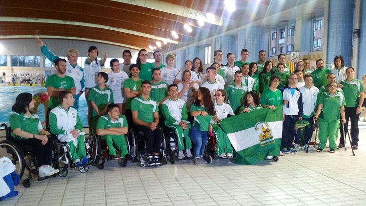 Cita del Club Natación Utrera en el Campeonato de Andalucía Alevín y en el Campeonato de España de natación adaptada