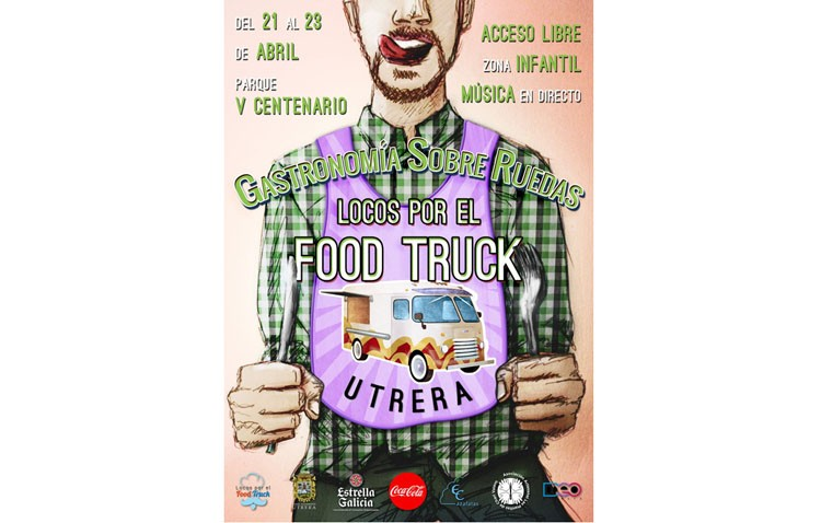 El evento de «food trucks» será finalmente del 21 al 23 de abril