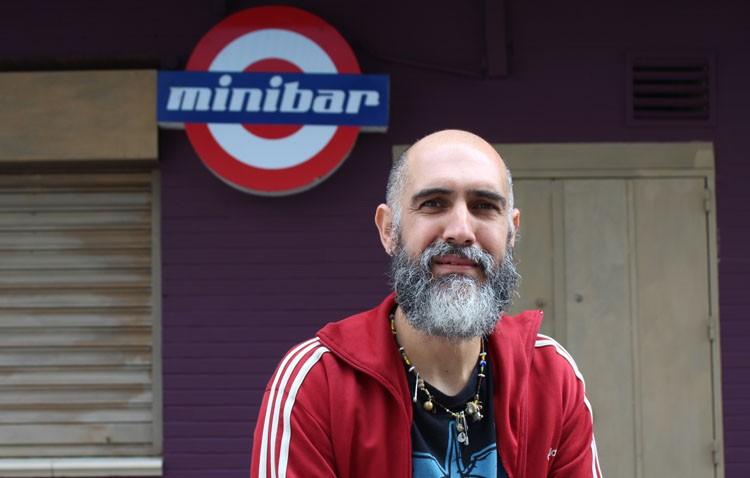 Gabriel Galindo «Gaby», un utrerano muy conocido al frente del Minibar y La Antigua