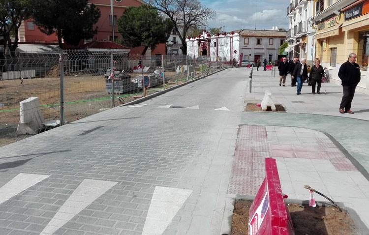 Pío XII reabre al tráfico con cambios en las calles Las Mujeres y Álvarez Hazañas