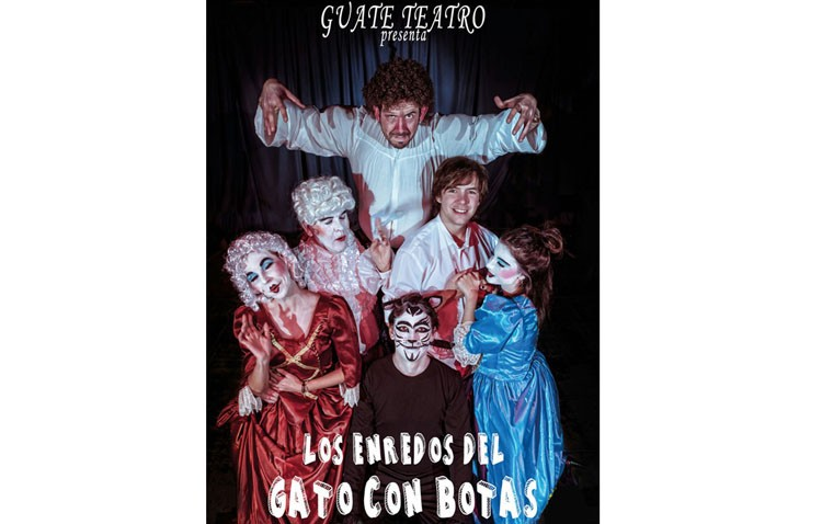 «Los enredos del gato con botas», nueva propuesta de Guate Teatro para toda la familia