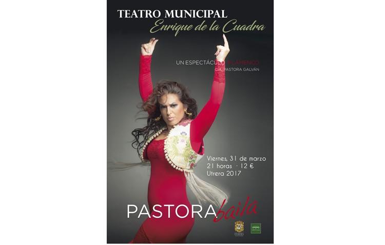 Una noche de baile flamenco en Utrera con Pastora Galván