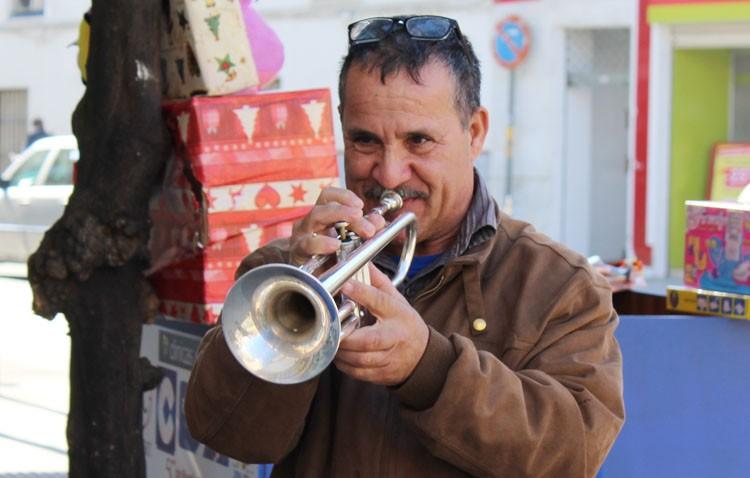 Pepe «El Trompeta», el músico que tocó en la despedida de soltera de la infanta Elena y en el cumpleaños de Juan Carlos I